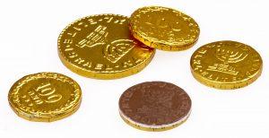 מטבעות חנוכה